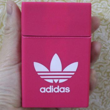 VONE7N2 Adidas & CHICAGO BULLS & KEEP CALM AND LIGHT UP & Chromehearts Fashionable Silicone Case Smoking Case Pink
