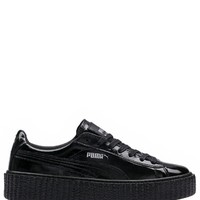Shop Fenty Puma by Rihanna Women's Black Cracked Creeper -MadisonStyle