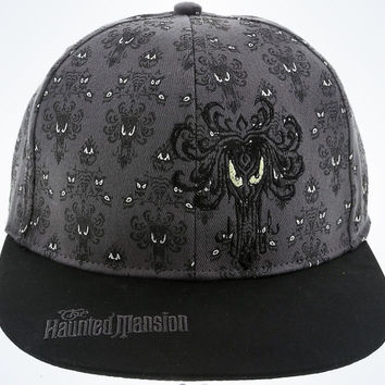 Disney Parks Haunted Mansion Wallpaper Baseball Cap One Size New With Tags