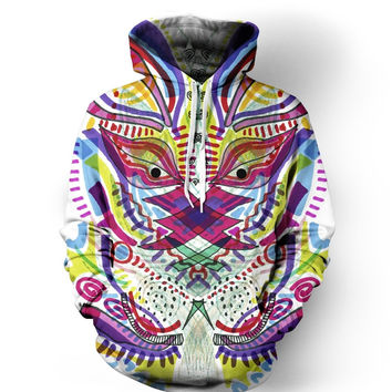 The Neon Time Traveler Hoodie