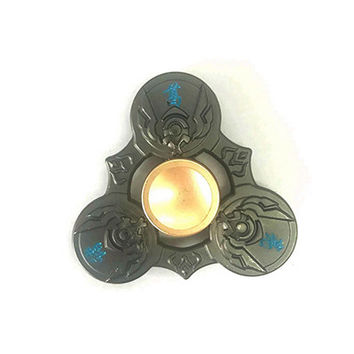 Hot Selling EDC Toys Triangular Haand Spinner High Quality Metal Profession Genji Spinner ADHD Tri Spinner Cool Fidget Spinner