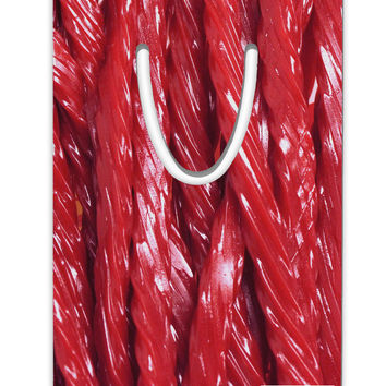 Red Rope Candy All Over Aluminum Paper Clip Bookmark All Over Print