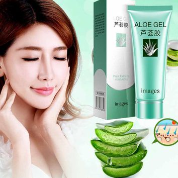 Images Aloe Vera Gel Natural Supplements Nourishing Moisturizing Lotion Gel Shrink for Any skin in Day Facial Cream Moisturies