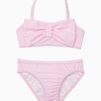 toddlers' bow two-piece