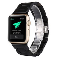 Natural Wood Wrist Watch Band Straplt Watch For Apple Watch Series 2 / 1
