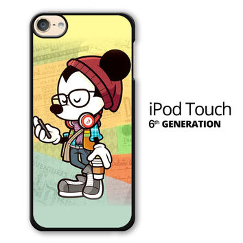 Hipster Mickey Mouse iPod Touch 6 Case