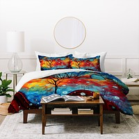Madart Inc. Summer Snow Duvet Cover