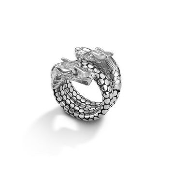 John Hardy naga collection coil ring