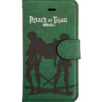 Attack On Titan Eren & Levi Silhouette iPhone 5 Case
