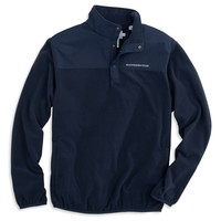 Navigational Fleece Pullover in True Navy by Southern Tide