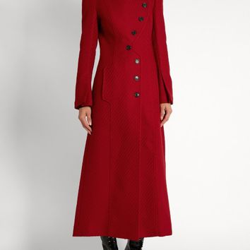 Denham asymmetric double-breasted coat | Roland Mouret | MATCHESFASHION.COM US