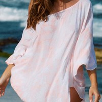 Bettinis Peach Poncho 560CU-PECH