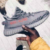 Adidas Yeezy 550 Boost 350 V2 Fashionable Couple Sport Running Shoe Sneakers 1# I/A