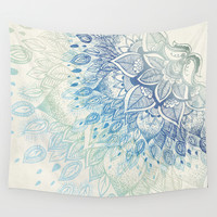 Dahlia Wall Tapestry by Rskinner1122