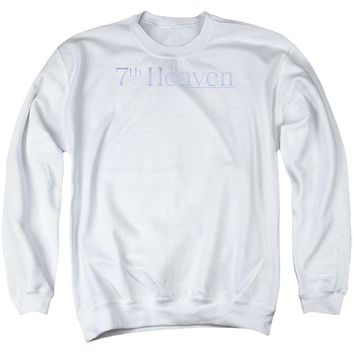 7 Th Heaven - 7 Th Heaven Logo Adult Crewneck Sweatshirt
