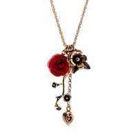 Plum multi pendant women necklace direct sales [sj35] - $4.54 : Favorwe.com Supply all kinds of cheap fasion jewelry