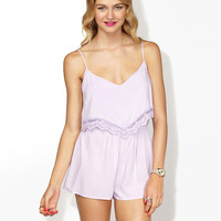 LILAC WANDERER PLAYSUIT