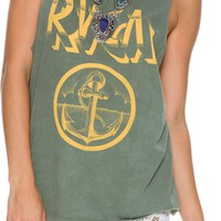 RVCA RVCA ANCHOR MUSCLE TEE