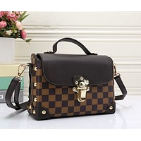 LV Women Shopping Bag Leather Satchel Crossbody Shoulder Bag