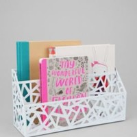 UrbanOutfitters.com > Geo Cutout Letter Storage Bin