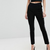 New Look Pin Tuck Tailored Pants at asos.com