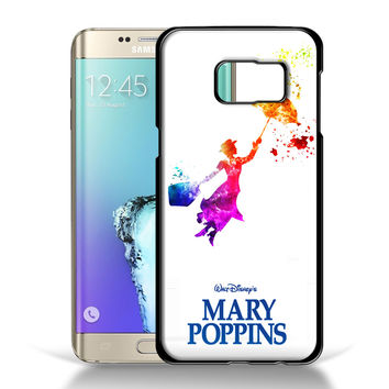 Mary Poppins in Watercolor Art Samsung Galaxy S6 Edge Plus