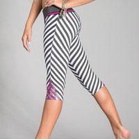California Kisses SHINE BRIGHT CROP LEGGING - Dancewear