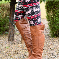 ON THE NICE LIST ULTRA FLEECE LEGGINGS