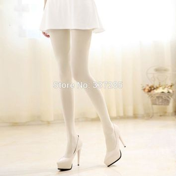 XXXL new lady women tights fashion stockings plus velvet warm Opaque tights for dance maid women's tights pantyhose