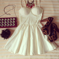 Alexa Candy Bustier Dress