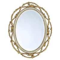 Mirrors, Gilded Vine Wall Mirror, Gold, Wall Mirrors