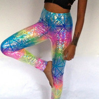 Rainbow Warrior Leggings