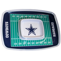 Dallas Cowboys Chip & Dip Tray