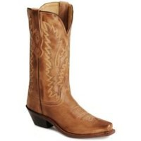 Sheplers: Old West Distressed Leather Cowgirl Boots - Snip Toe