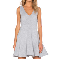 MINKPINK Stagnant Dress in Grey Marle