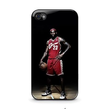 LEBRON JAMES CLEVELAND iPhone 4 / 4S Case Cover