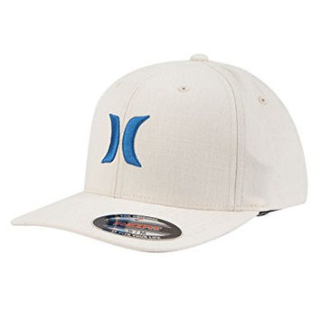 HURLEY One & Textures Mens Hat, Off White, S/M