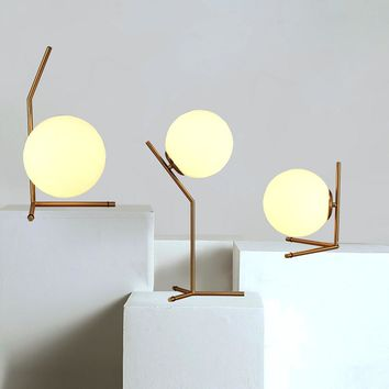 Globe Glass Table Lamps