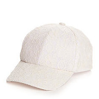 New Directions® Lace Baseball Hat