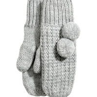 Glittery Mittens - from H&M