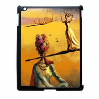 Salvador Dali Woman With Flower Head Vogue iPad 3 Case