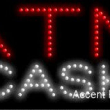 ATM Cash Flashing & Animated LED Sign (High Impact, Energy Efficient)