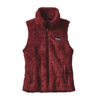 Patagonia Women's Los Gatos Fleece Vest- Drumfire Red