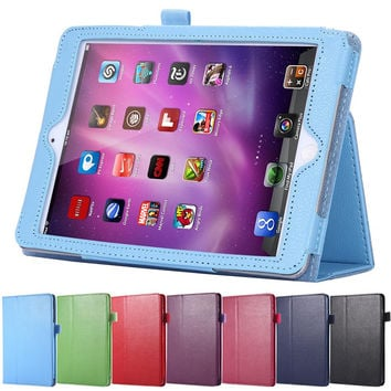 Luxury Book Flip Leather Case For Apple iPad 2 3 4 Tablets Notebook Accessories Stand Holder Sleeve Cover For iPad2 3 4 Magnetic