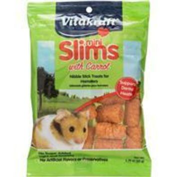 Vitakraft Pet Prod Co Inc - Mini Slims With Carrot For Hamsters