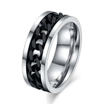 Wedding Engagement Stainless Steel Ring for Women Fashion Rings Couple Steel Rings for Man Stainless Woman Ring Men 2RS405