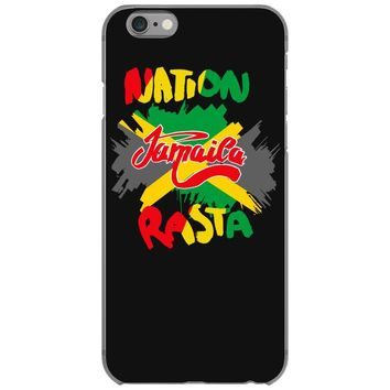 rasta nation, the reggae and dancehall iPhone 6/6s Case