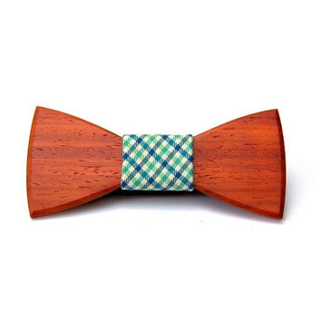 Wooden bow ties men accessorizes dandy style fashion bowtie wood