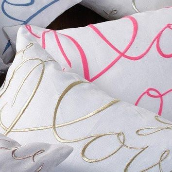 Love Pillow by Lulu DK for Matouk