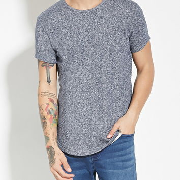 Marled French Terry Tee